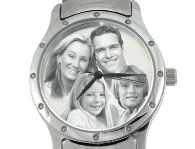 Image Watch Stainless Steel Bracelet Gents or Ladies