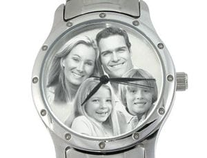 Image Watch Stainless Steel Bracelet Gents or Ladies