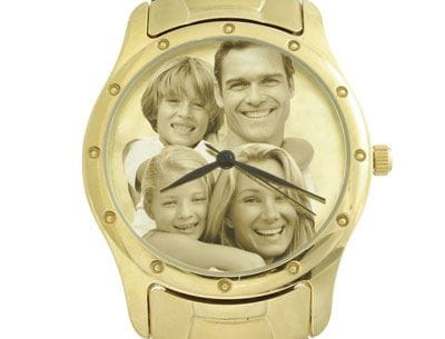 Image Watch Gold Plated Bracelet Gents or Ladies