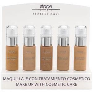 Natural Lifting Fluid Make Up Display