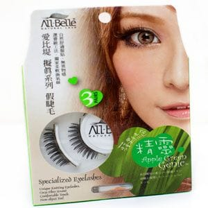 Natural Lashes - 3 Pkt