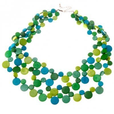 Vitality Greens Smarties Necklace