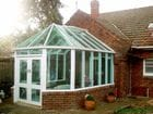 Geelong - Exterior view of the finished Victorian style conservatory