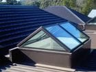 Glazed Roof in Mt Macedon - Double glazed gable skylight