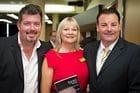 Bill Doyle, Terri Cooper and Andrew Csabi at Terri Cooper Networking Brisbane