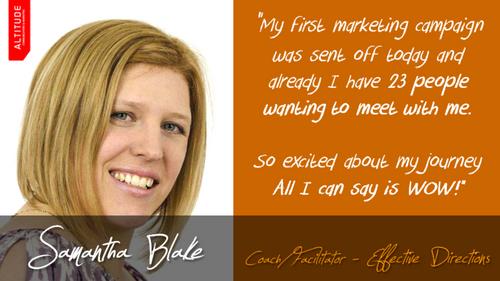 Samantha Blake - Facilitator of Change at Effective Directions