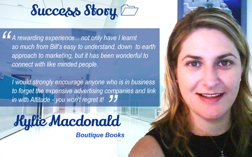 Kylie MacDonald - Owner Boutique Books