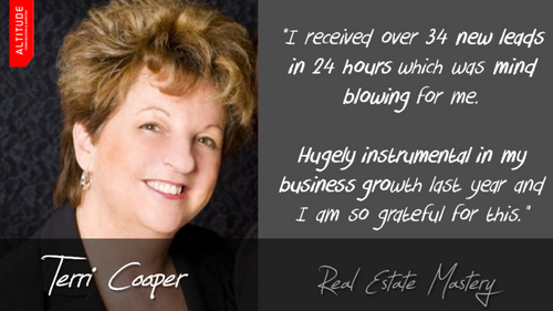 Terri Cooper - Managing Director, Real Estate Mastery