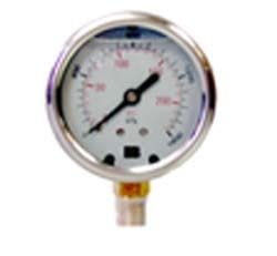 400 KPA/60PSI PRESSURE GAUGE OILED FILLED