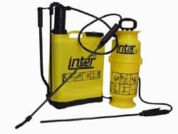 INTER 9 COMPRESSION SPRAYER - 6 LITRES