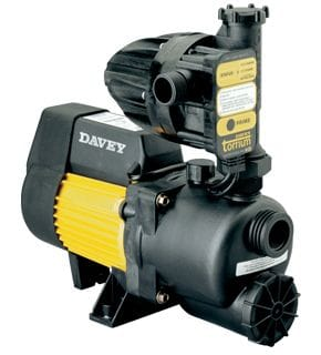 Davey XP450T Pressure System