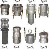 Camlocks - Aluminum, Brass, Nyglass, Polypropylene, Stainless Steel