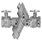Double check valves
