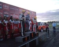 Coming 3rd at QLD Raceway July 08 - an awesome feeling!