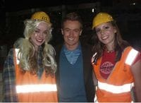 Me with Laura and Lauren, season 1 of Australia's Got Talent