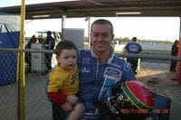 Me with Trsitan at QLD Raceway