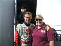 Me with Kirsty at the 2008 QLD V8's