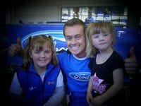 Me with Becky & Kelsea at a Ford Family Fun Day in 2007