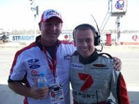 Me with Robert Edwards at QLD Raceway 2007