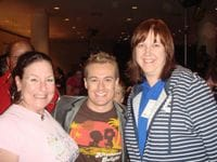 Me with Allison & Deb at the Good Friday Appeal