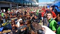 Nurburgring 24 hour race - Germany - just a small gathering!!  ha ha
