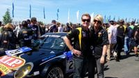 Nurburgring 24 hour race - Germany - me with Chezzi