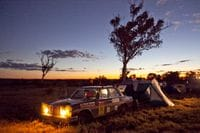 Camping at Buckland on the Outback Trek