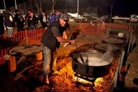 Cooking up a storm at the Outback Trek - May 2009