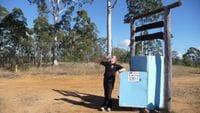 The fridge - Outback Trek May 2009