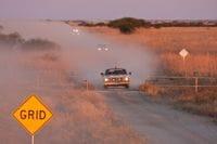 The Grid near Winton - Outback Trek 2009