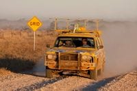 Just near Winton - Outback Trek 2009