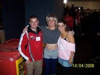 Me with Peter and Amanda at the 2006 Royal Children's Hospital Appeal