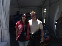 Me with Tammy at Barbagallo Raceway 2009