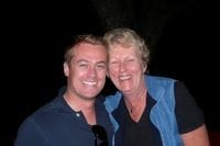 Me with Carolyn at Jerico QLD 2009