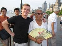 A Shanghai local... he was a huge fan.