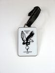 Metal Rectangular Bag Tag
