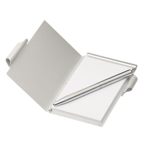 Aluminium Pocket Note Pad With Pen