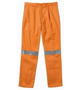 Hi-Visibility Cotton Drill Trouser