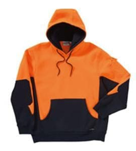 Hi Visibility Two Tone Jersey Fleece Hoodie