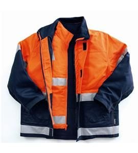 Hi-Visibility Four Way Cotton Drill Jacket