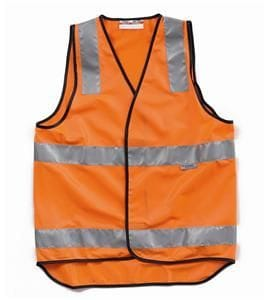Hi-Visibility Polyester Vest with 3M Tape
