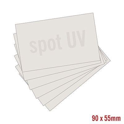 Business Cards - Matt Laminate with Spot UV