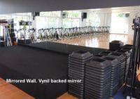 Gym Wall Mirrors Gold Coast