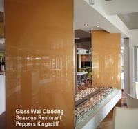 Glass Wall Cladding - 'Seasons' Resturant. Peppers Resort Kingscliff