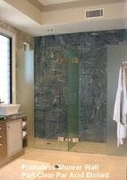 Double Frameless Shower Screen Coolangatta