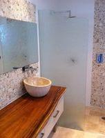 Textured Shower Panel, Burleigh Heads Gold Coast