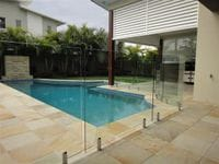 Frameless Pool Fence Gold Coast
