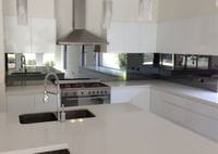 Mirror Star Toughened Glass Splashback. Tweed Heads