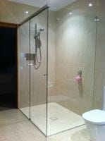 Save space with this luxury sliding shower screen. Tweed Heads