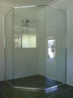 Semi Frameless Shower Screen. Tweed Heads
